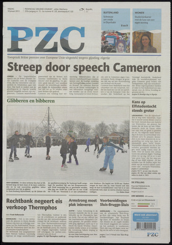 Provinciale Zeeuwse Courant 2013-01-18