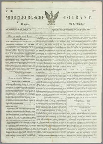 Middelburgsche Courant 1857-09-22