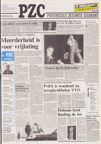 Provinciale Zeeuwse Courant 1989-01-27