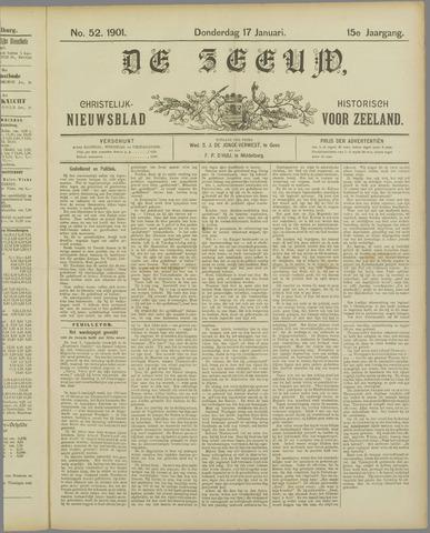 De Zeeuw. Christelijk-historisch nieuwsblad voor Zeeland 1901-01-17