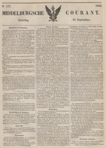 Middelburgsche Courant 1869-09-25
