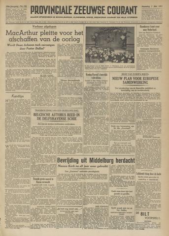 Provinciale Zeeuwse Courant 1951-05-07