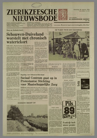 Zierikzeesche Nieuwsbode 1976-08-26