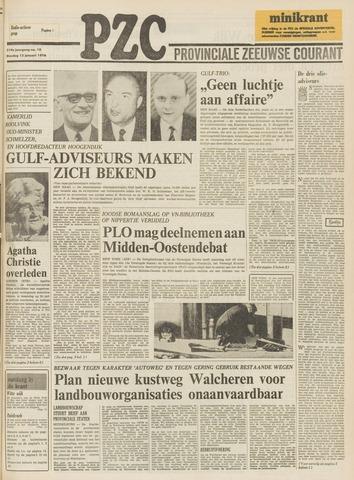 Provinciale Zeeuwse Courant 1976-01-13