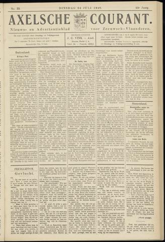 Axelsche Courant 1928-07-24