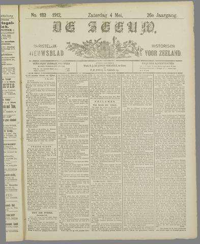 De Zeeuw. Christelijk-historisch nieuwsblad voor Zeeland 1912-05-04