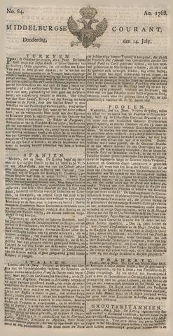 Middelburgsche Courant 1768-07-14