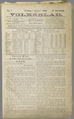 Volksblad 1886