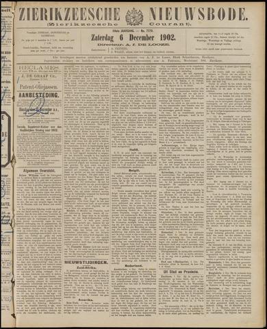 Zierikzeesche Nieuwsbode 1902-12-06