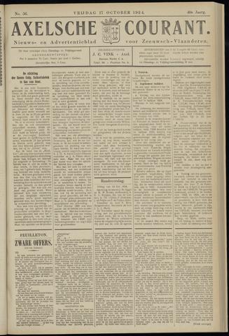 Axelsche Courant 1924-10-17