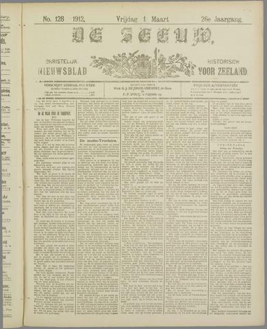 De Zeeuw. Christelijk-historisch nieuwsblad voor Zeeland 1912-03-01