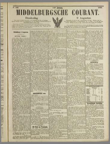 Middelburgsche Courant 1906-08-09