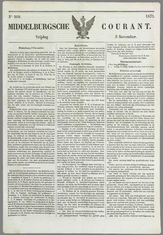 Middelburgsche Courant 1871-11-03