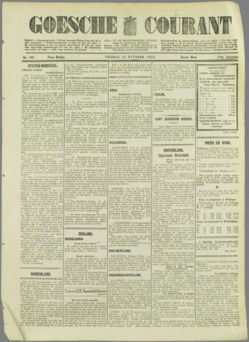 Goessche Courant 1932-10-21