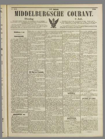 Middelburgsche Courant 1906-07-03