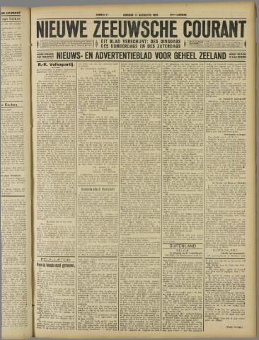 Nieuwe Zeeuwsche Courant 1926-08-17