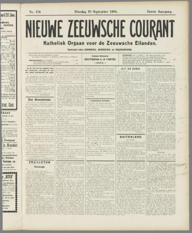Nieuwe Zeeuwsche Courant 1905-09-19