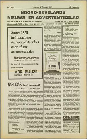 Noord-Bevelands Nieuws- en advertentieblad 1952-02-02