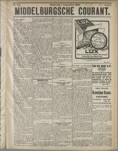 Middelburgsche Courant 1921-08-01