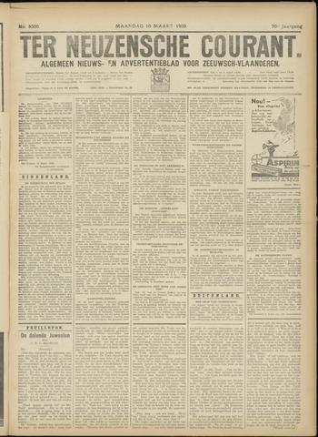 Ter Neuzensche Courant. Algemeen Nieuws- en Advertentieblad voor Zeeuwsch-Vlaanderen / Neuzensche Courant ... (idem) / (Algemeen) nieuws en advertentieblad voor Zeeuwsch-Vlaanderen 1930-03-10