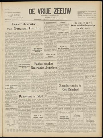 de Vrije Zeeuw 1952-08-07