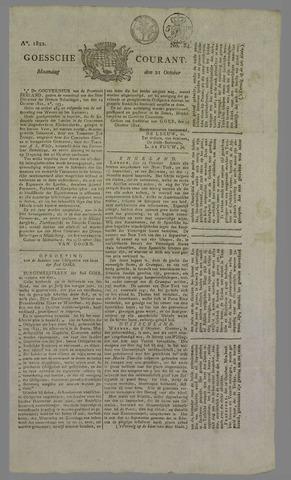Goessche Courant 1822-10-21