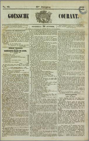 Goessche Courant 1856-10-30
