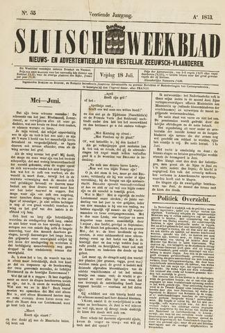 Sluisch Weekblad. Nieuws- en advertentieblad voor Westelijk Zeeuwsch-Vlaanderen 1873-07-18
