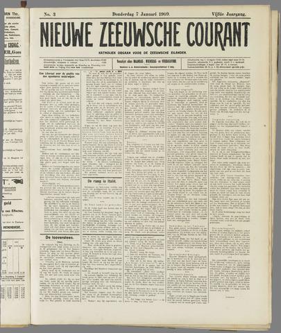 Nieuwe Zeeuwsche Courant 1909-01-07