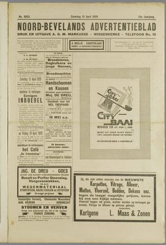 Noord-Bevelands Nieuws- en advertentieblad 1929-04-13