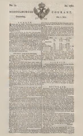 Middelburgsche Courant 1761-07-02