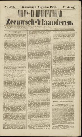 Ter Neuzensche Courant. Algemeen Nieuws- en Advertentieblad voor Zeeuwsch-Vlaanderen / Neuzensche Courant ... (idem) / (Algemeen) nieuws en advertentieblad voor Zeeuwsch-Vlaanderen 1860-08-01
