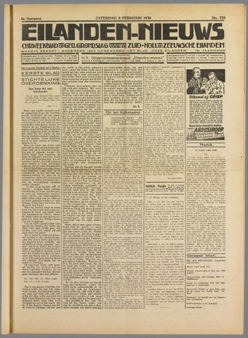 Eilanden-nieuws. Christelijk streekblad op gereformeerde grondslag 1936-02-08