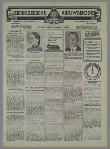Zierikzeesche Nieuwsbode 1937-11-15