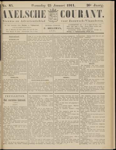 Axelsche Courant 1911-01-25