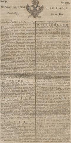 Middelburgsche Courant 1776-05-09