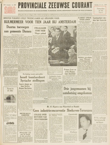 Provinciale Zeeuwse Courant 1964-11-14