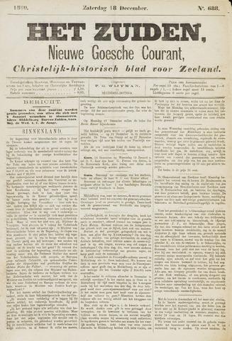 Het Zuiden, Christelijk-historisch blad 1880-12-18