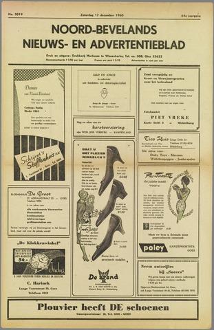 Noord-Bevelands Nieuws- en advertentieblad 1960-12-17