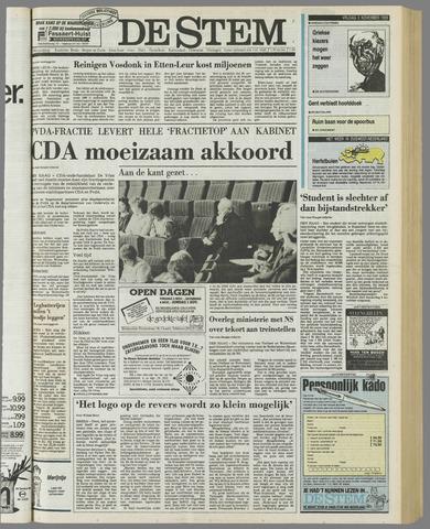de Stem 1989-11-03