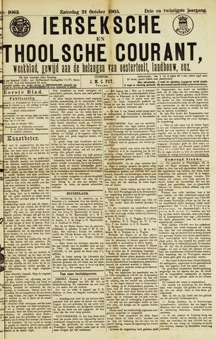 Ierseksche en Thoolsche Courant 1905-10-21