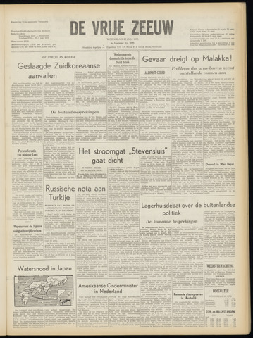 de Vrije Zeeuw 1953-07-22