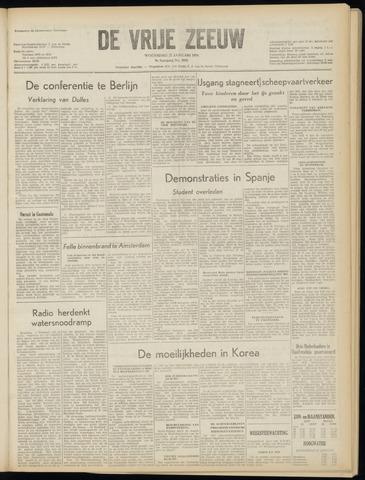 de Vrije Zeeuw 1954-01-27