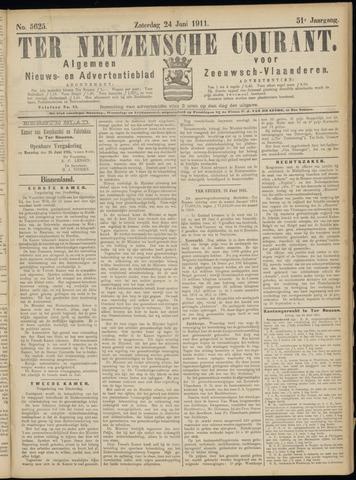 Ter Neuzensche Courant. Algemeen Nieuws- en Advertentieblad voor Zeeuwsch-Vlaanderen / Neuzensche Courant ... (idem) / (Algemeen) nieuws en advertentieblad voor Zeeuwsch-Vlaanderen 1911-06-24