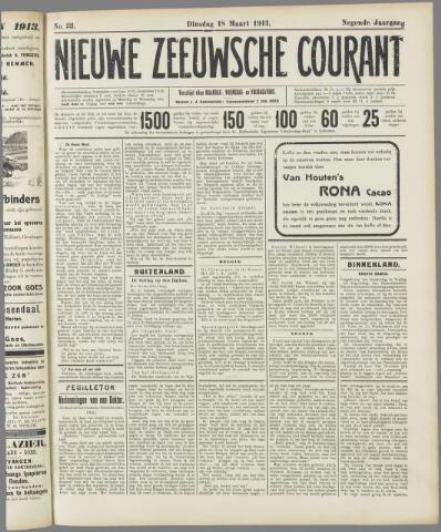 Nieuwe Zeeuwsche Courant 1913-03-18