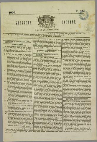 Goessche Courant 1850-02-25