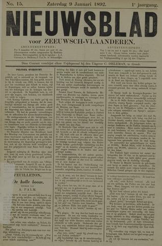Nieuwsblad voor Zeeuwsch-Vlaanderen 1892-01-09