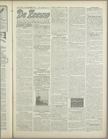De Zeeuw. Christelijk-historisch nieuwsblad voor Zeeland 1943-12-13