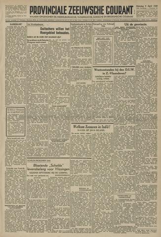 Provinciale Zeeuwse Courant 1946-04-09