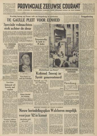 Provinciale Zeeuwse Courant 1961-10-03